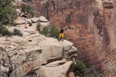 Le Canyon de Chelly : des surplombs impressionnants
