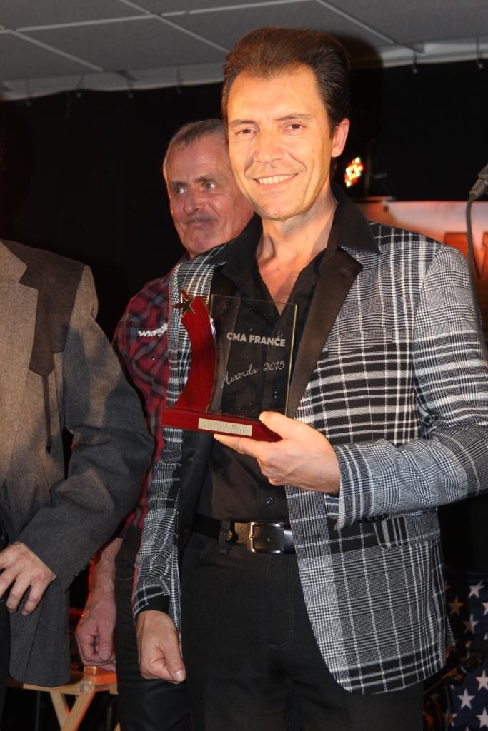 Eddy Ray Cooper : Meilleur interprète masculin 2015