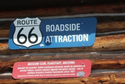 Flagstaff, musée de la Route 66, géré par une association