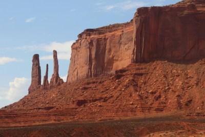 Monument Valley - Les trois soeurs