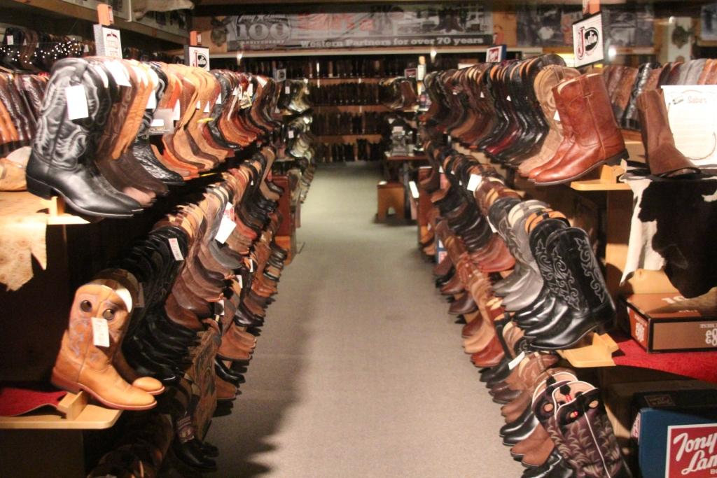 Scottsdale (Arizona) - Le magasin de bottes !