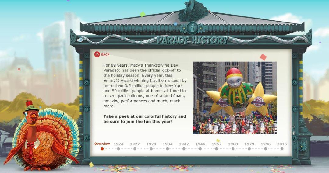 Macy's Parade History