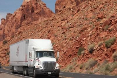 Sur la route, les trucks sont aussi une attraction !