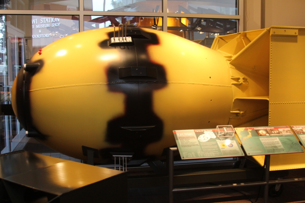 """""""Fat Man"""", une des deux bombes nucléaires"""