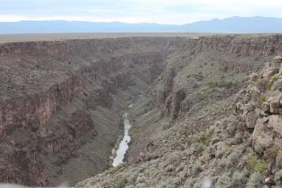 Les gorges du Rio Grande