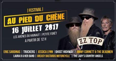 ZZtop au Festival Au pied du chêne
