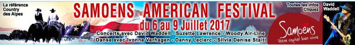 Samoens American Festival 2017 - INFOS, CLIQUEZ !