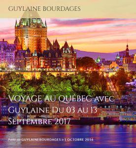 Voyage au Québec, Sept. 2017