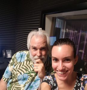 Tom Earl (Radio Host) & Rebekka Lorraine (Social Media Manager)