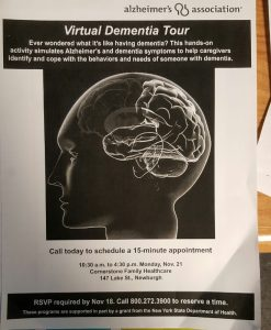 Virtual Dementia Tour