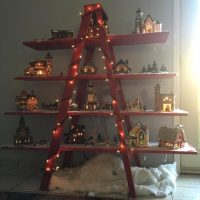 Wooden Christmas Village Decoration - Desktop PC's AMD