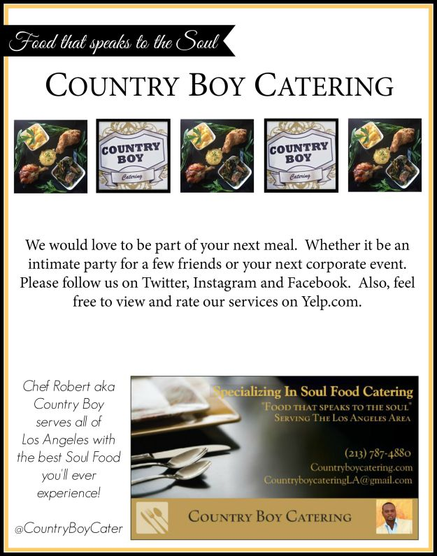 Country Boy Catering AD