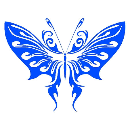 Butterfly Decal 1807 - Country Boy Customs Store