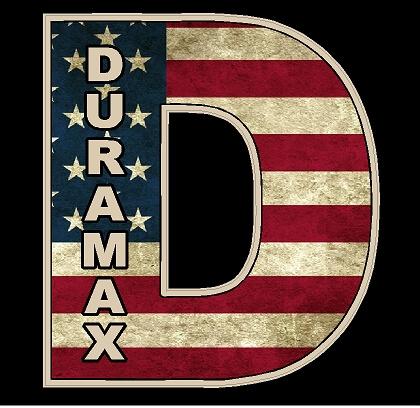 Duramax D American Flag Vinyl Decal Sticker Duramax