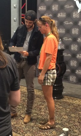 Thomas Rhett at Fan Fair X