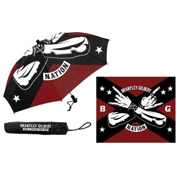 Brantley Gilbert BG Nation Umbrella
