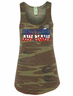 Chris Young Aw Naw Camo Tank