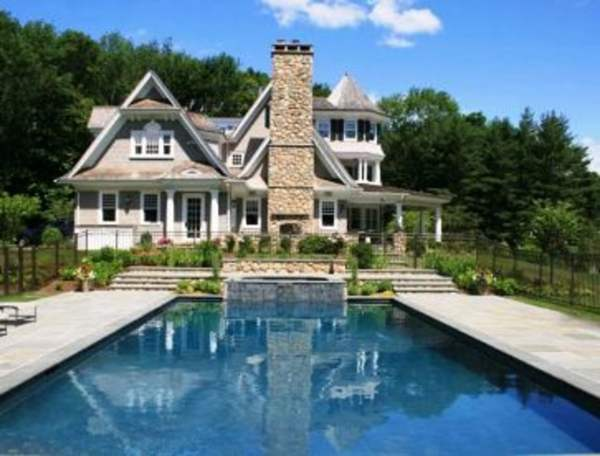 Canaan Shingle-style House Design - Country Club Homes