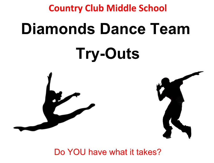 CCMS dance team tryouts
