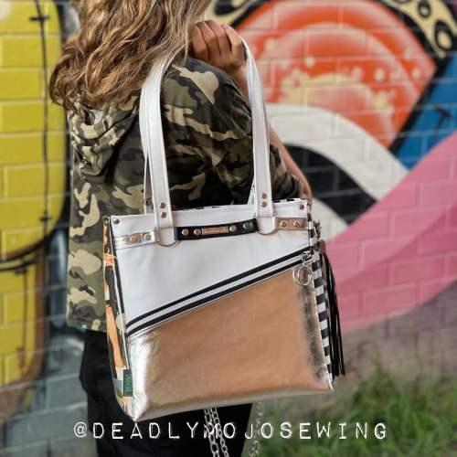 Lomexa Handbag made by Deadly Mojo Sewing