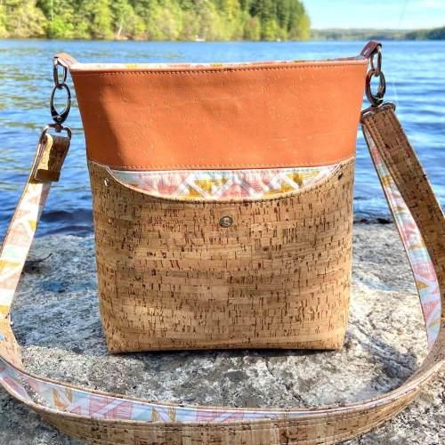 Teloujay Crossbody Bag made by Novaclavi Design