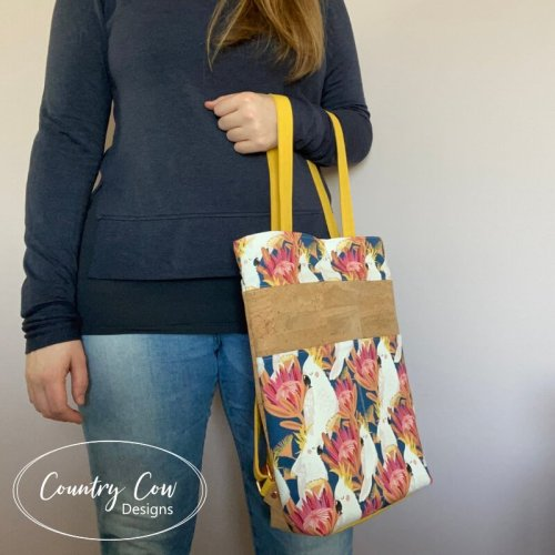 Cornish Backpack Tote by Country Cow Designs