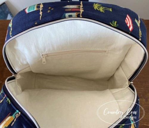 Trekoda Mini Backpack Lining - No Binding