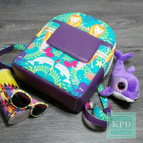 Trekoda Mini Backpack Made by Kaya Papaya