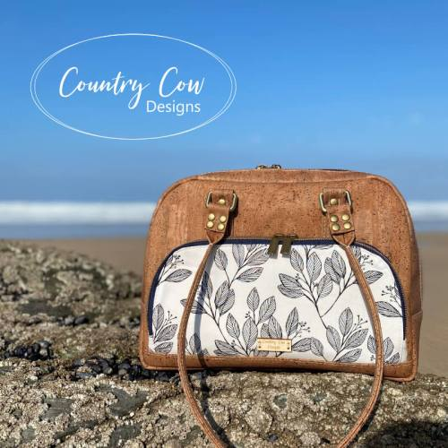 Vekza Bowler Bag - Sewing Pattern by Country Cow Designs