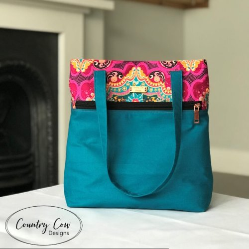 Wanderlust Tote Front
