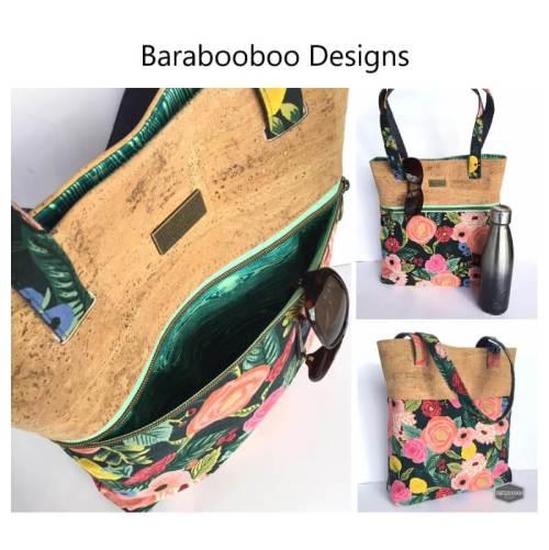 Wanderlust Tote Made by Barabooboo Designs