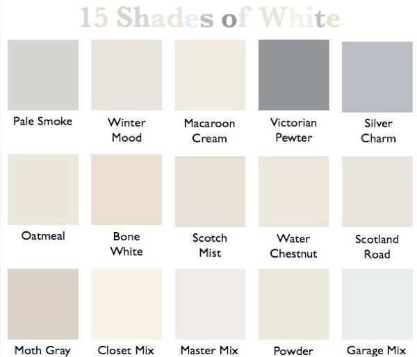 Walmart Interior Paint Color Chart
