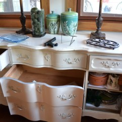Corner Top Kitchen Cabinet Table Lighting Fixtures My Repurposed Desk - Country Design Style