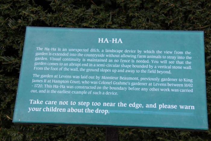 Ha-Ha-Description