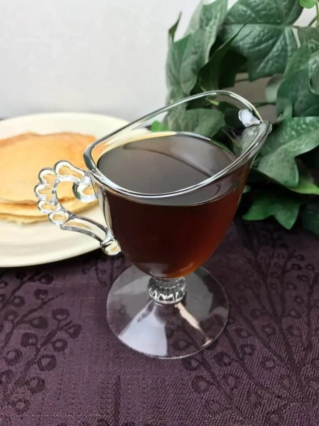 Simple Maple Syrup (THM-FP)