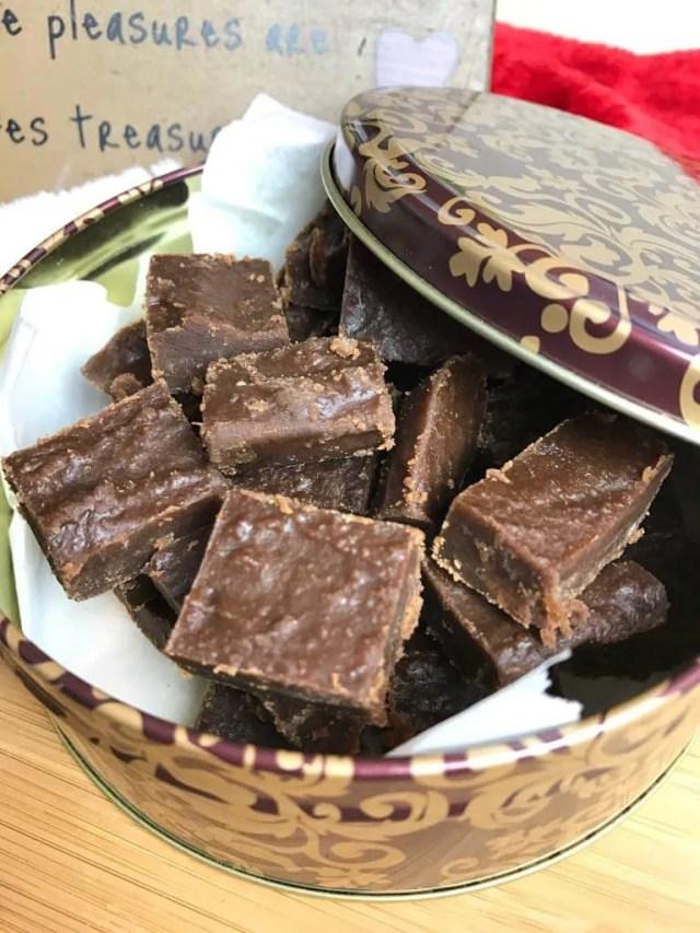 Peanut Butter Chocolate Fantastic Fudge (THM-S, Sugar Free)