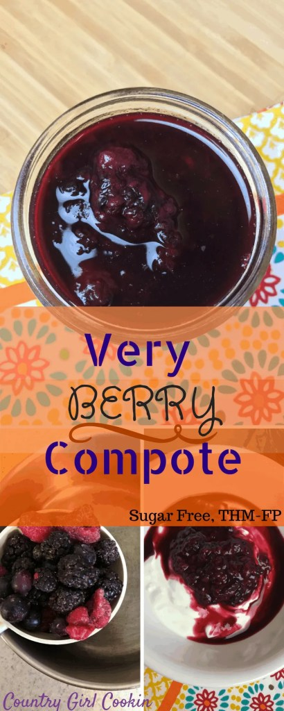 Very Berry Compote (Sugar- Free, THM-FP)