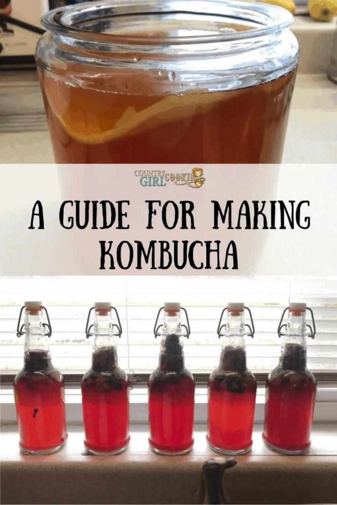 A Guide For Making Kombucha