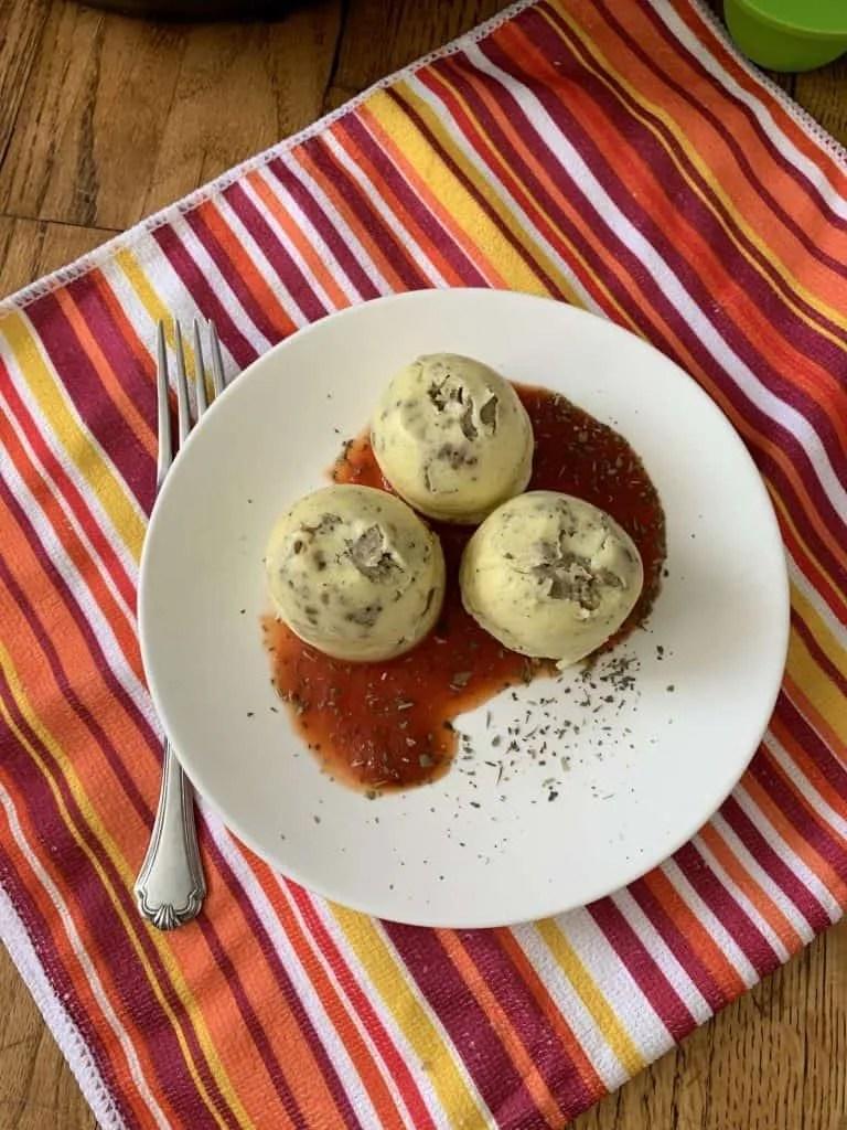 Instant Pot Italian Egg Bites (THM-S, Low Carb)