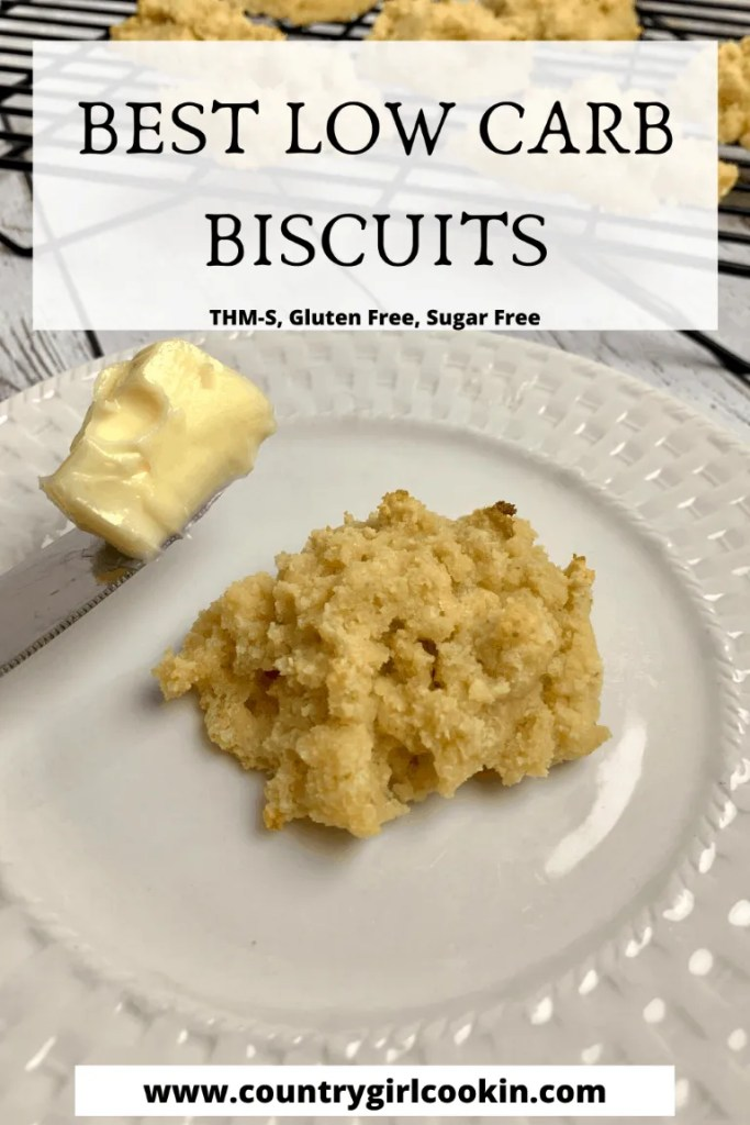 Best Low Carb Biscuits (THM-S, Gluten Free)