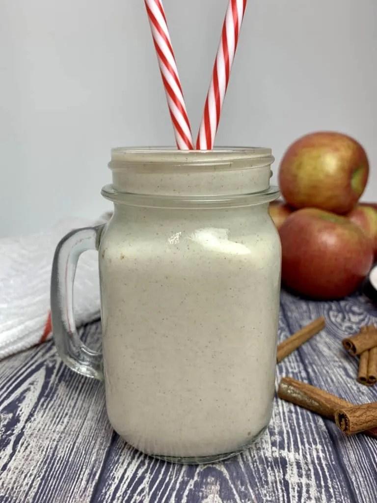 Apple Pie Shake (THM-E, Sugar Free)