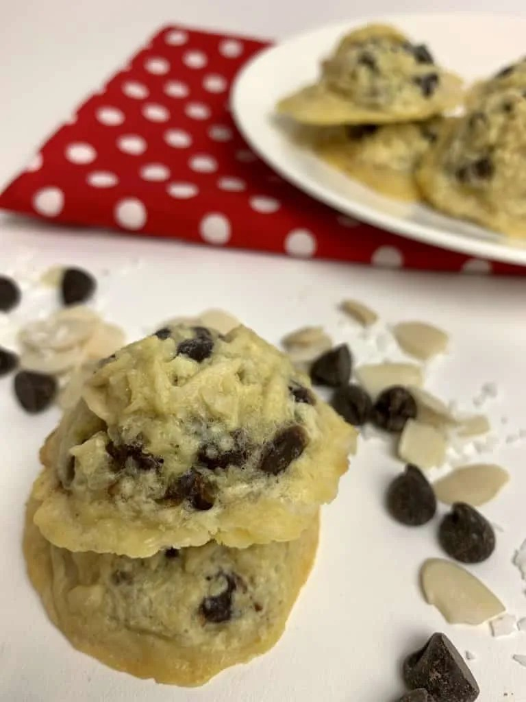 Candy Bar Cookies (THM-S, Low Carb, Sugar Free, Gluten Free)