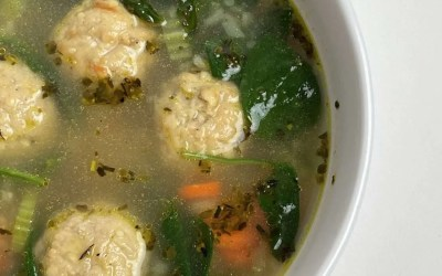 Low Carb Wedding Soup