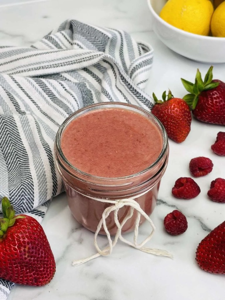 Instant Pot Red Berry Curd (Sugar Free, Low Carb, THM-S)