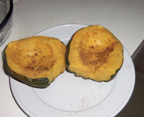 First time for Acorn Squash