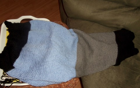 The knitted Throw