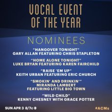 Vocal Event of the Year