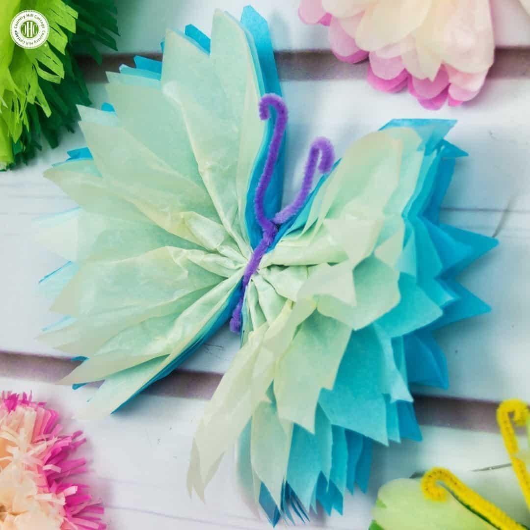 Schmetterlinge Aus Papier Basteln