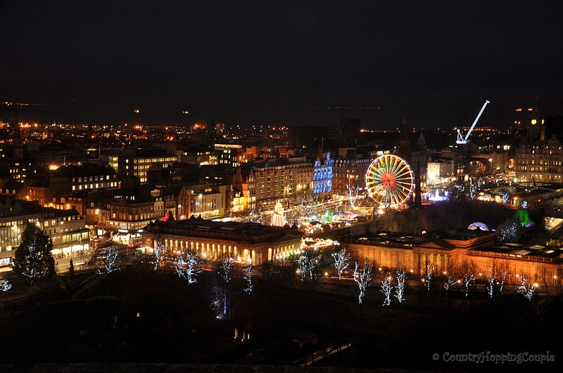 Photo Essay: Christmas Markets in Edinburgh