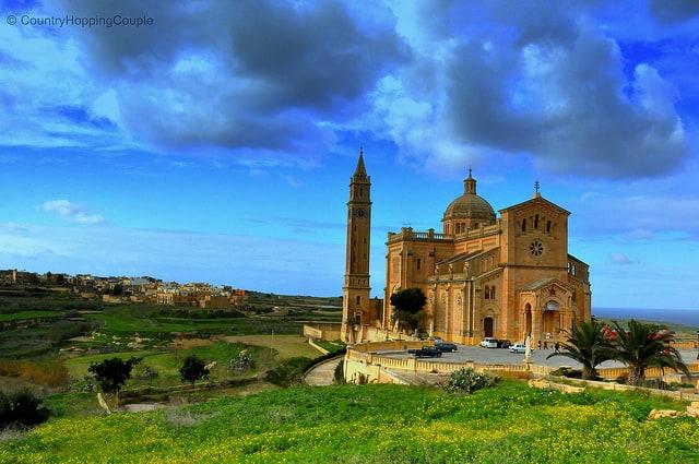 Monument Monday: Ta' Pinu Basilica, Gozo Island